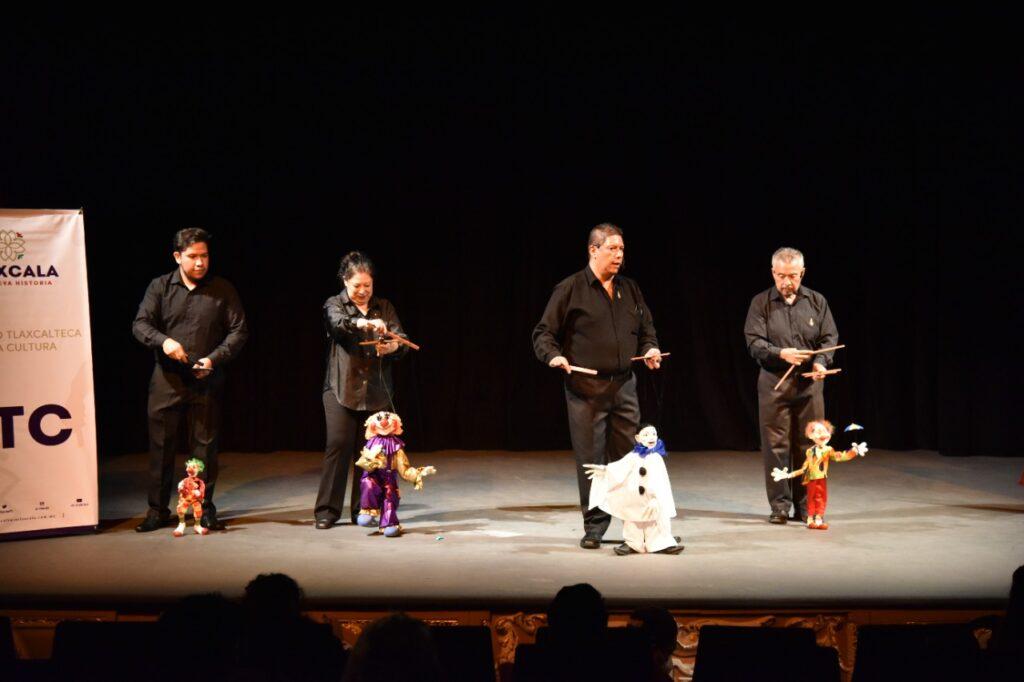 "Inauguran el Festival de Títeres ""Rosete Aranda"""