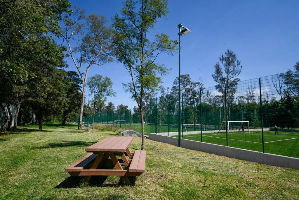 Inauguran Parque Lomas en  2a Sección de Chapultepec