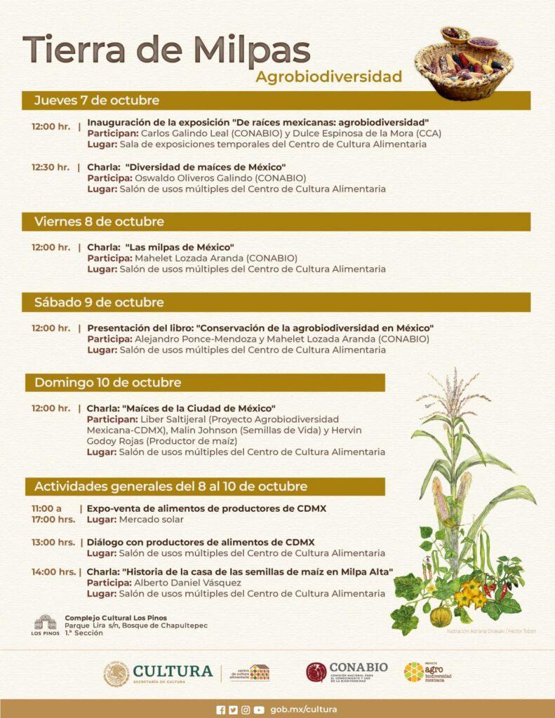 """Inauguran """"Tierra de milpas: Agrobiodiversidad"""""""