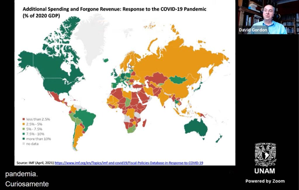Complicada situación del mundo al terminar la pandemia