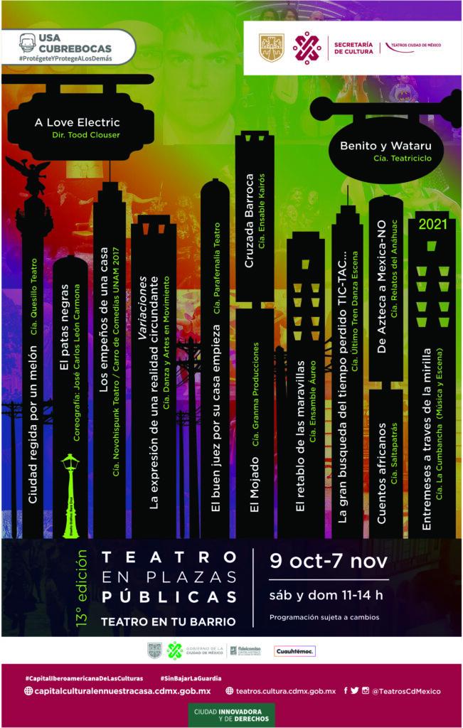 Teatro en Plazas Públicas -Teatro en tu Barrio